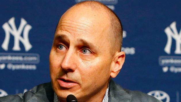 Yankees general manager Brian Cashman is on a roll this winter and he's not done yet. (AP)