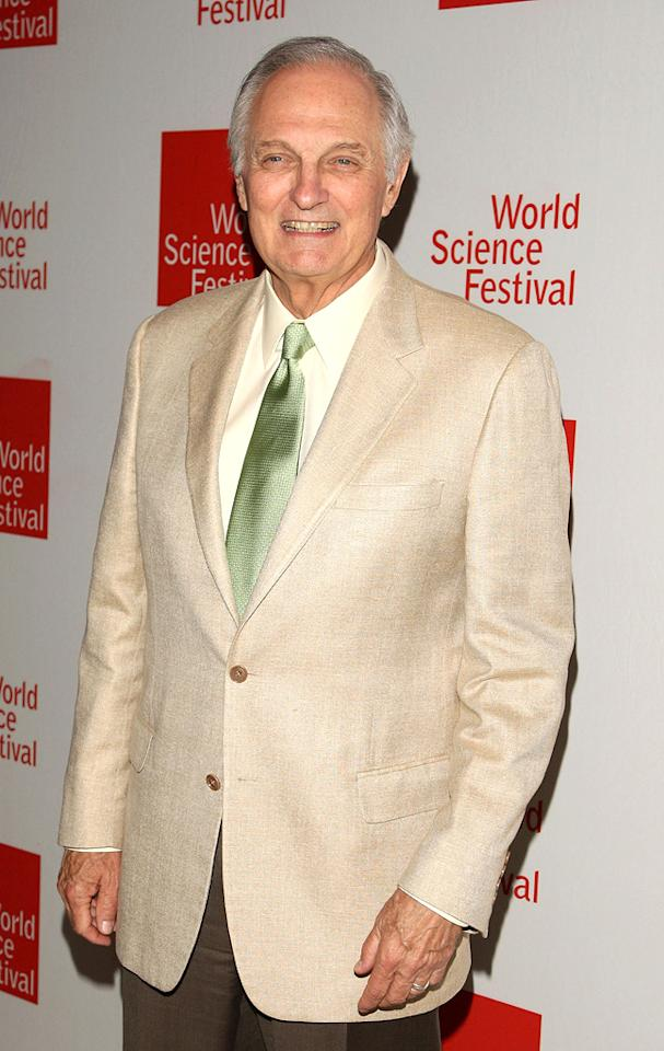 """January 28: Alan Alda turns 75 Bryan Bedder/<a href=""""http://www.gettyimages.com/"""" target=""""new"""">GettyImages.com</a> - June 10, 2009"""