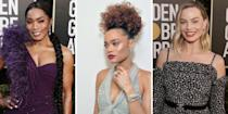 <p>Though the Golden Globes look different this year—with celebrities Zooming in from both LA and NYC—the beauty looks remain fierce and fun. Who needs a red carpet when you have Instagram? Ahead, the best hair and makeup looks from the 2021 (virtual!) Golden Globes. </p>