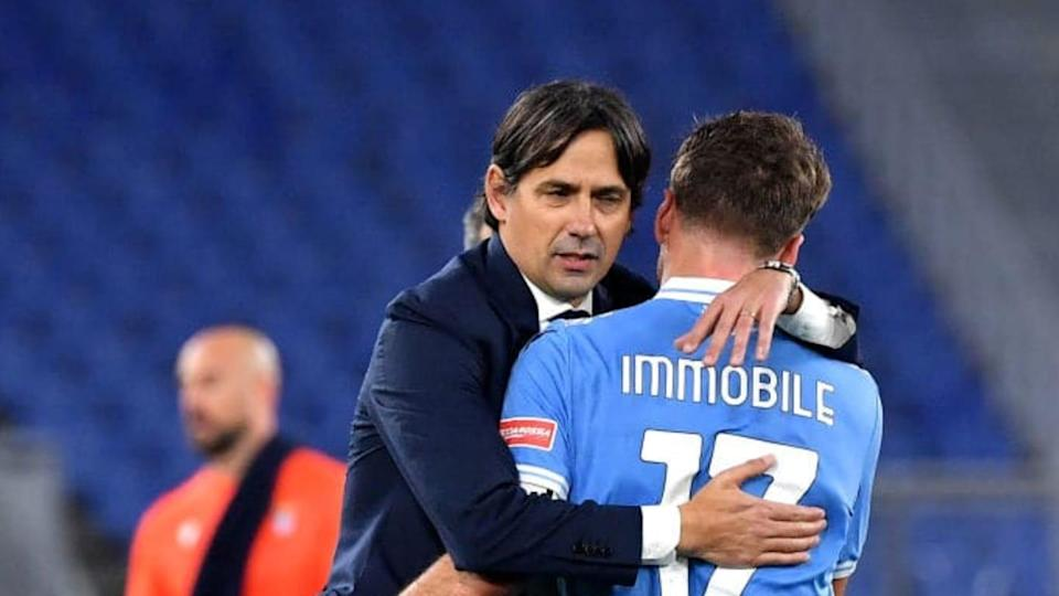 Simone Inzaghi e Ciro Immobile | MB Media/Getty Images