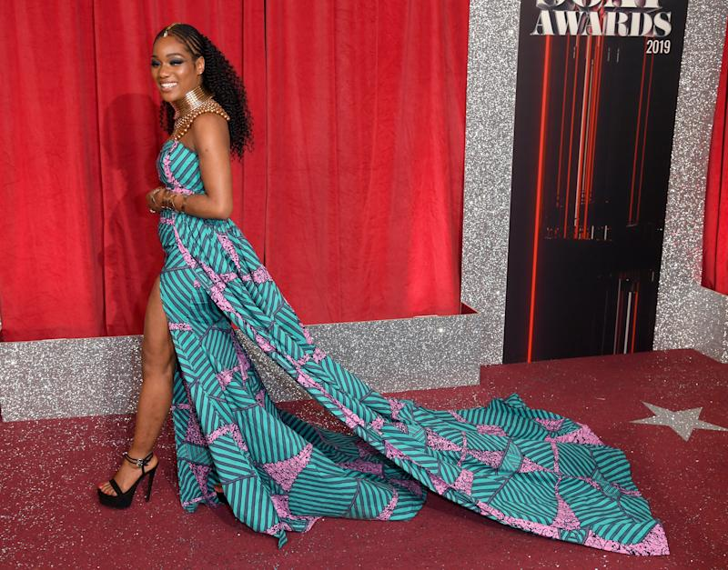 MANCHESTER, ENGLAND - JUNE 01: Rachel Adedeji attends the British Soap Awards at The Lowry Theatre on June 01, 2019 in Manchester, England. (Photo by Karwai Tang/WireImage)