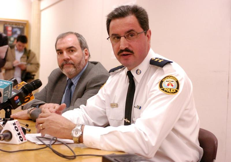 Mario Di Tommaso, right, is the deputy minister of community safety. Matt Torigian, the former deputy minister, said that Dean French pressured the head of the Ontario Public Service to replace him with Di Tommaso.