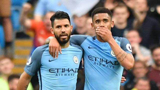 Can you fit Sergio Aguero and Gabriel Jesus into your Yahoo Daily Fantasy Sports team?
