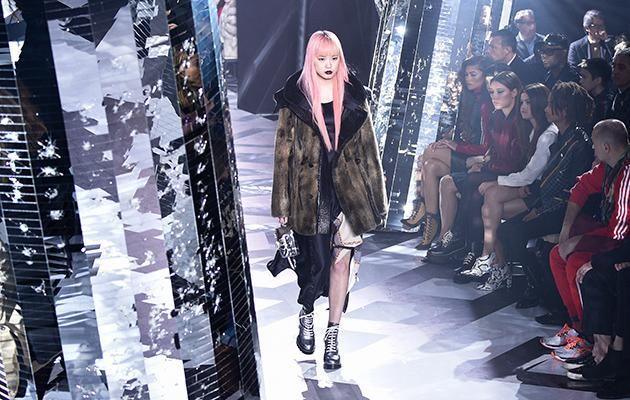 The Sydney girl also opened Louis Vuitton's Spring/Summer show in Paris this year.