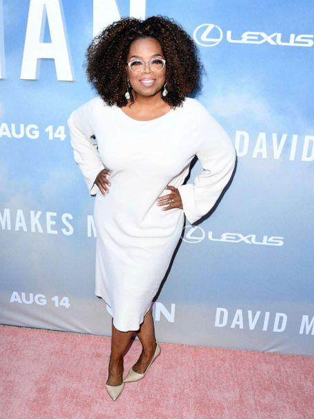 PHOTO:Oprah Winfrey arrives at the Premiere Of OWN's 'David Makes Man' at NeueHouse Hollywood, Aug. 6, 2019, in Los Angeles. (Steve Granitz/WireImage)