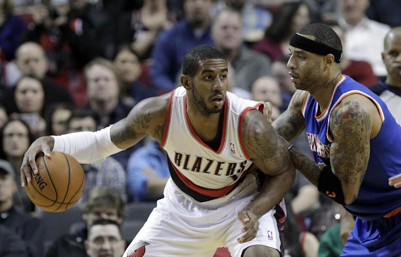 Blazers beat Knicks 102-91 for 11th straight win