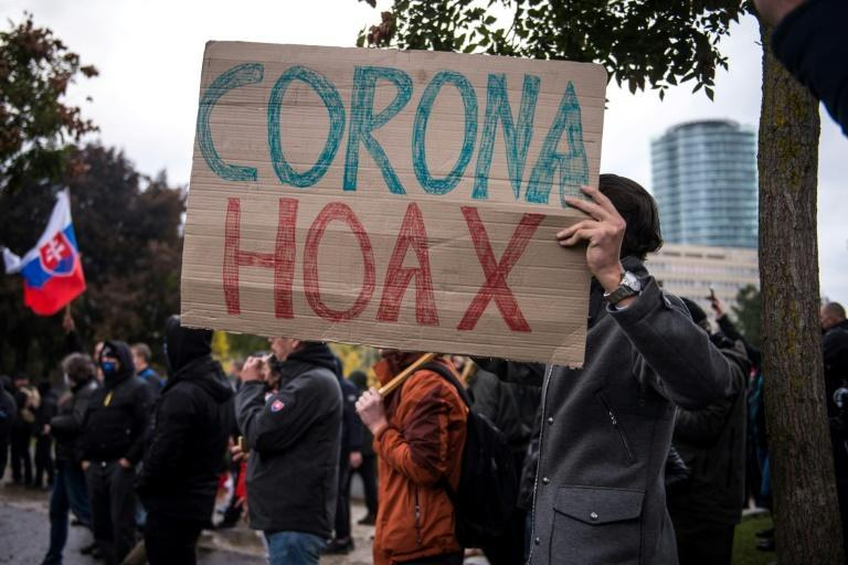 The coronavirus crisis has fired up many believers in a global conspiracy