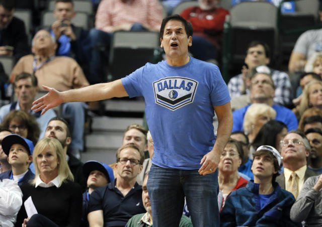 It's hard to believe Mark Cuban didn't know what was going on with the Mavs' corporate culture. (AP)