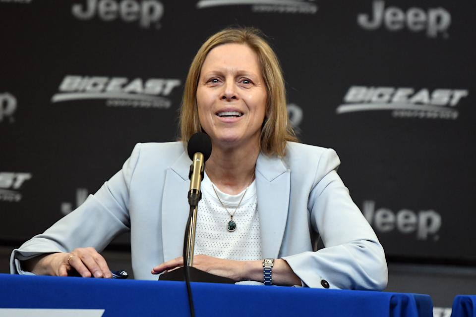 Now the Big East commissioner, Val Ackerman was the founding president of the WNBA and steered the league through many of its first milestones. (Mitchell Layton/Getty Images)