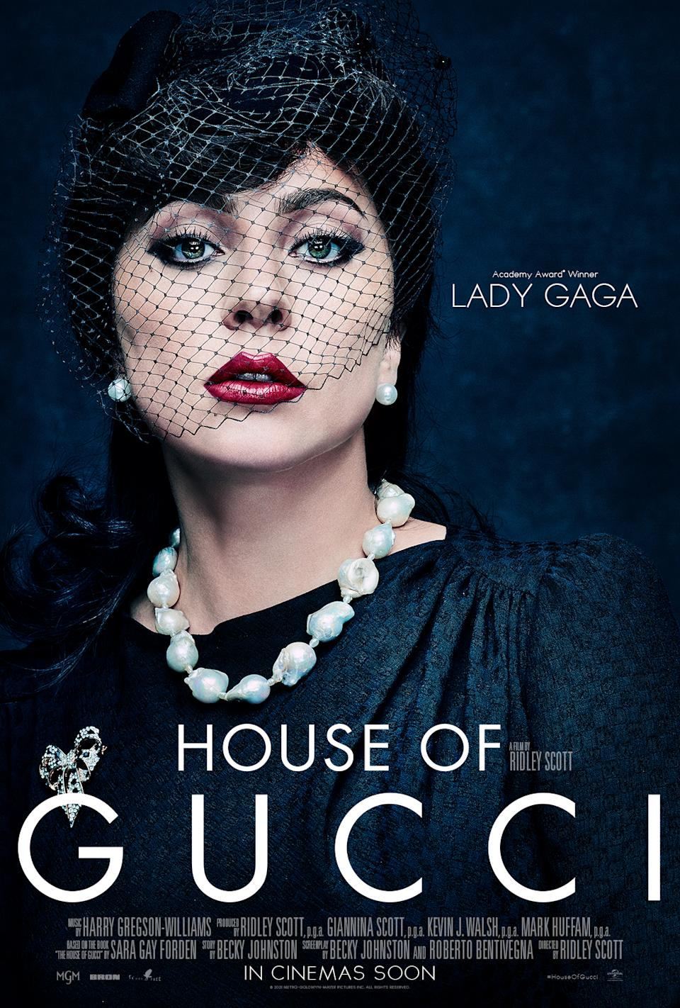 Lady Gaga in House of Gucci (Universal Pictures)