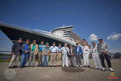Venerated War Veterans to join a special Transatlantic Crossing on Queen Mary 2 in partnership with The Greatest Generations Foundation