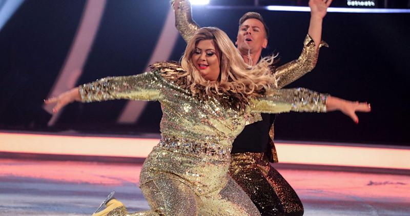 Image result for gemma collins dancing on ice gif
