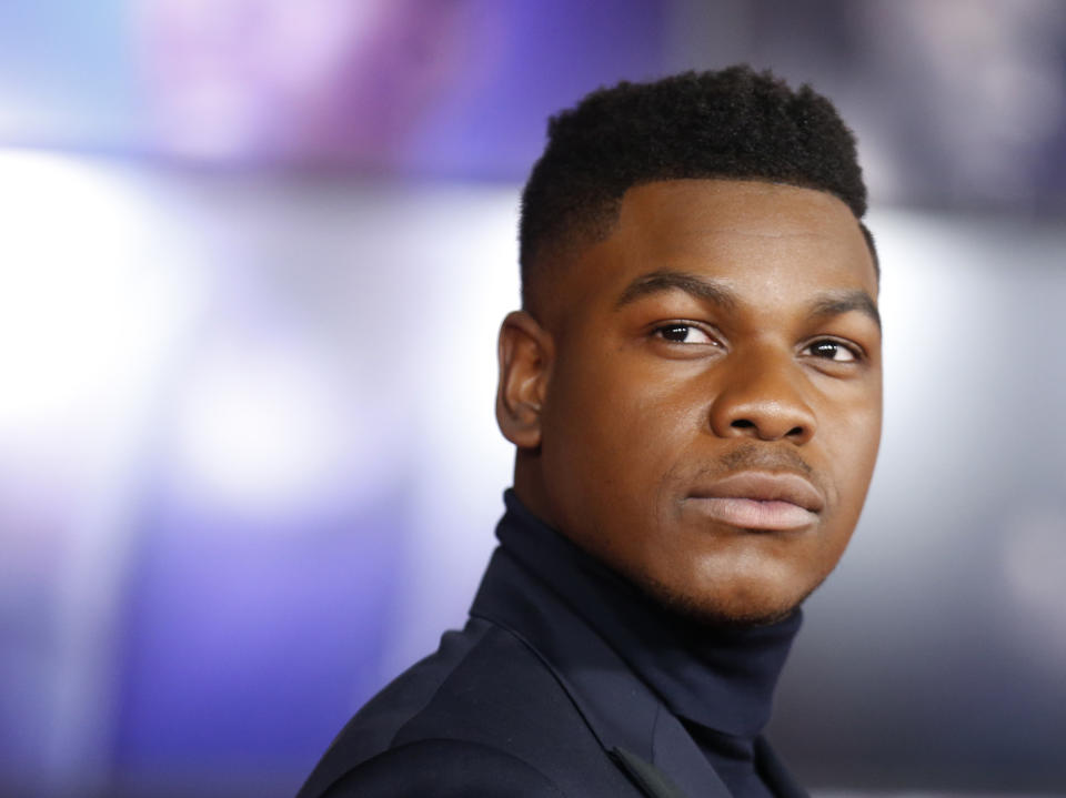 "World Premiere of ""Star Wars: The Last Jedi"" – Arrivals – Los Angeles, California, U.S., 09/12/2017  – Actor John Boyega. REUTERS/Danny Moloshok"