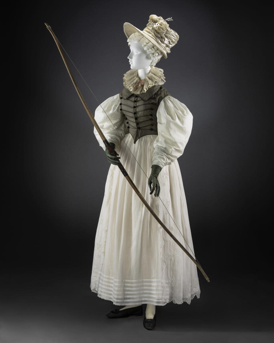 Archery in the 1820s. - Credit: Courtesy of FIDM