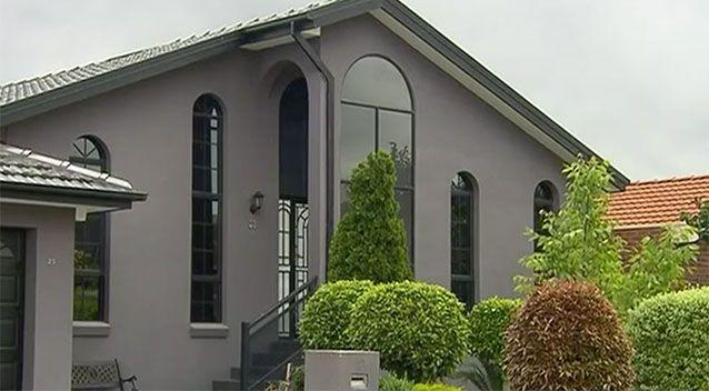 It's alleged the man let off gunfire after home invaders broke in. Source: 7 News