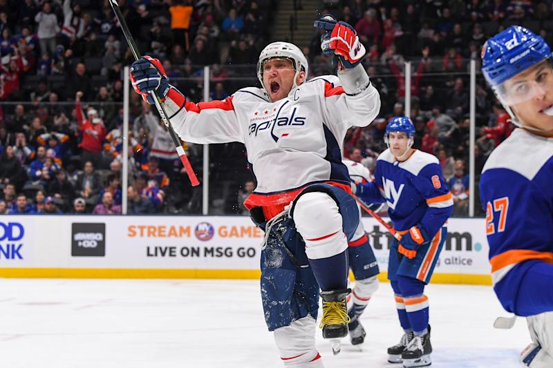 Alex Ovechkin and the Washington Capitals have the edge in star power against the New York Islanders.