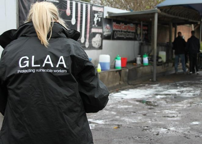 The Gangmasters and Labour Abuse Authority (GLAA) is urging banks to be vigilant for signs of modern slavery. Photo: GLAA