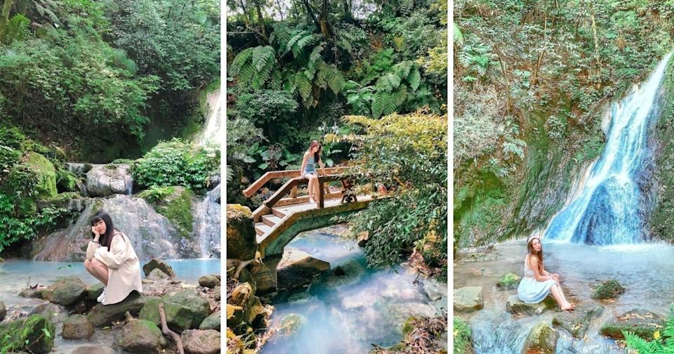 小隱潭瀑布 | Xiaoyin Pond Waterfall (Photos courtesy of @uni_o524 (left), @wynnchang (center) and @i.deer_lai (right)/Instagram)