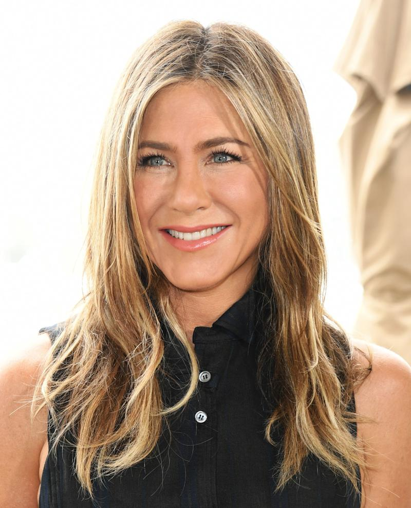 Jennifer Aniston Says She'll Never Stop Coloring Her Hair