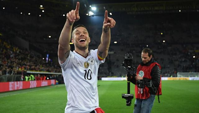 <p>Despite being outplayed for vast periods of the match, Podolski's thunderbolt seemed eerily inevitable. England were missing a number of players, but so were the world champions with the likes of Manuel Neuer, Mesut Ozil, Jerome Boateng and Thomas Muller rested. </p> <br><p>The German's ability to survive the English ascendancy over the first hour or so, and somehow find a way to win, was impressively resilient. </p> <br><p>Were they a club side it would be hailed as the performance of champions. </p>