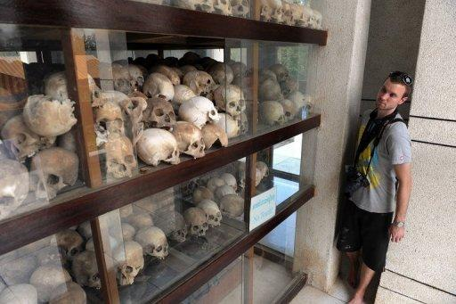 The Khmer Rouge regime is blamed for the deaths of up to two million people from 1975-1979
