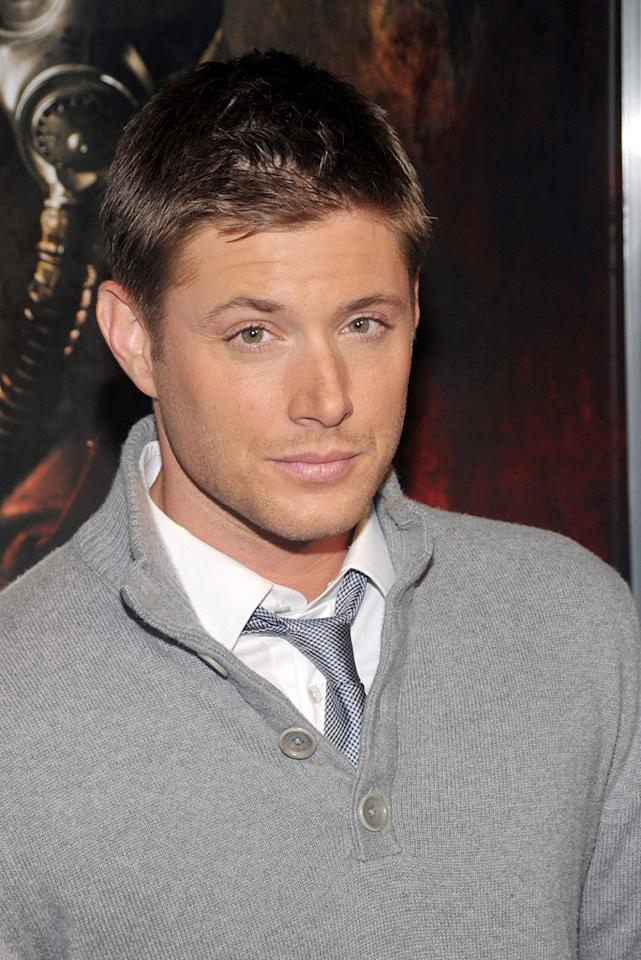 """<a href=""""http://movies.yahoo.com/movie/contributor/1804667895"""">Jensen Ackles</a> at the Los Angeles premiere of <a href=""""http://movies.yahoo.com/movie/1810027306/info"""">My Bloody Valentine 3-D</a> - 01/08/2009"""