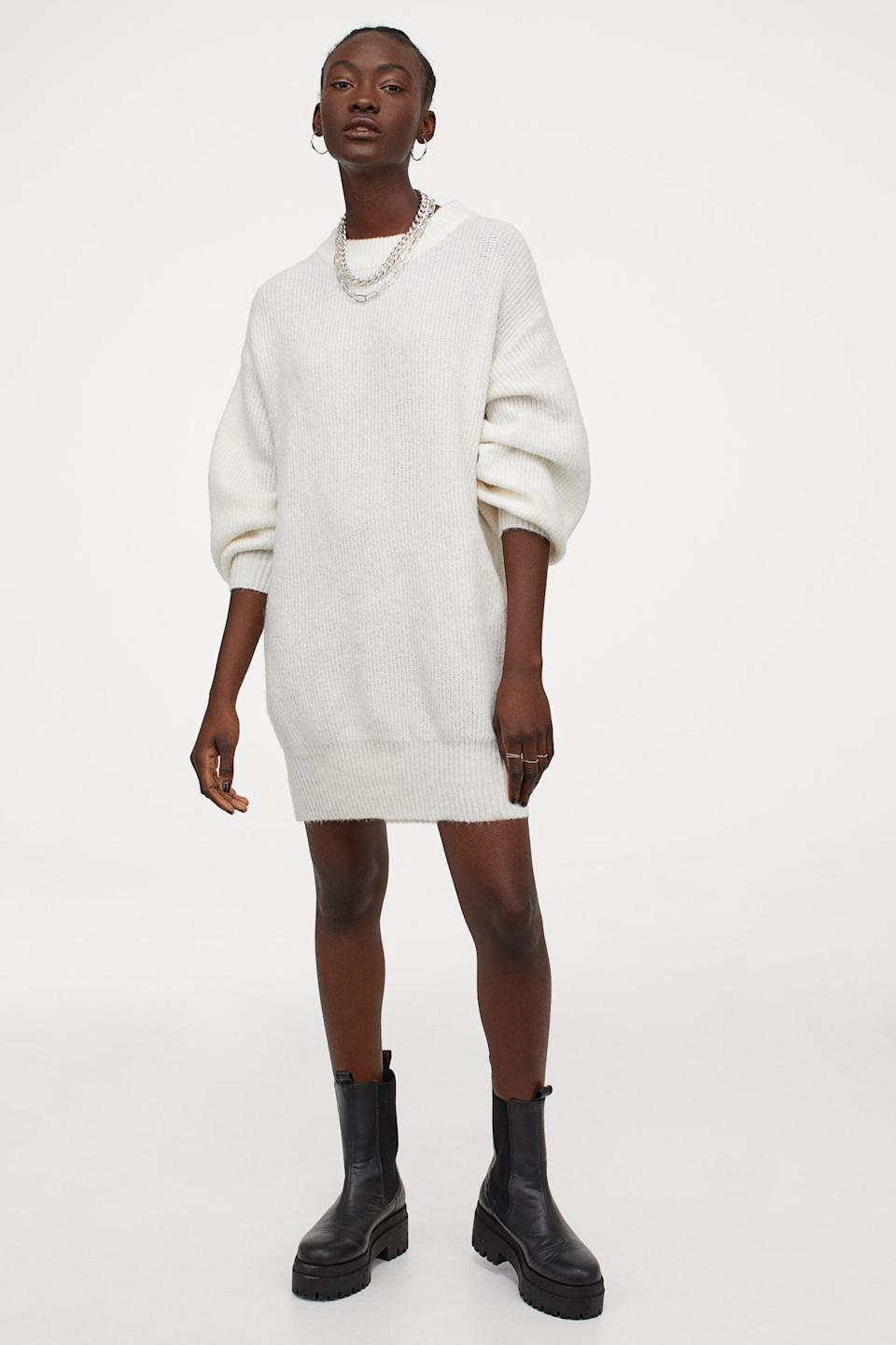<p>This <span>Knit Dress</span> ($30) looks so comfortable.</p>
