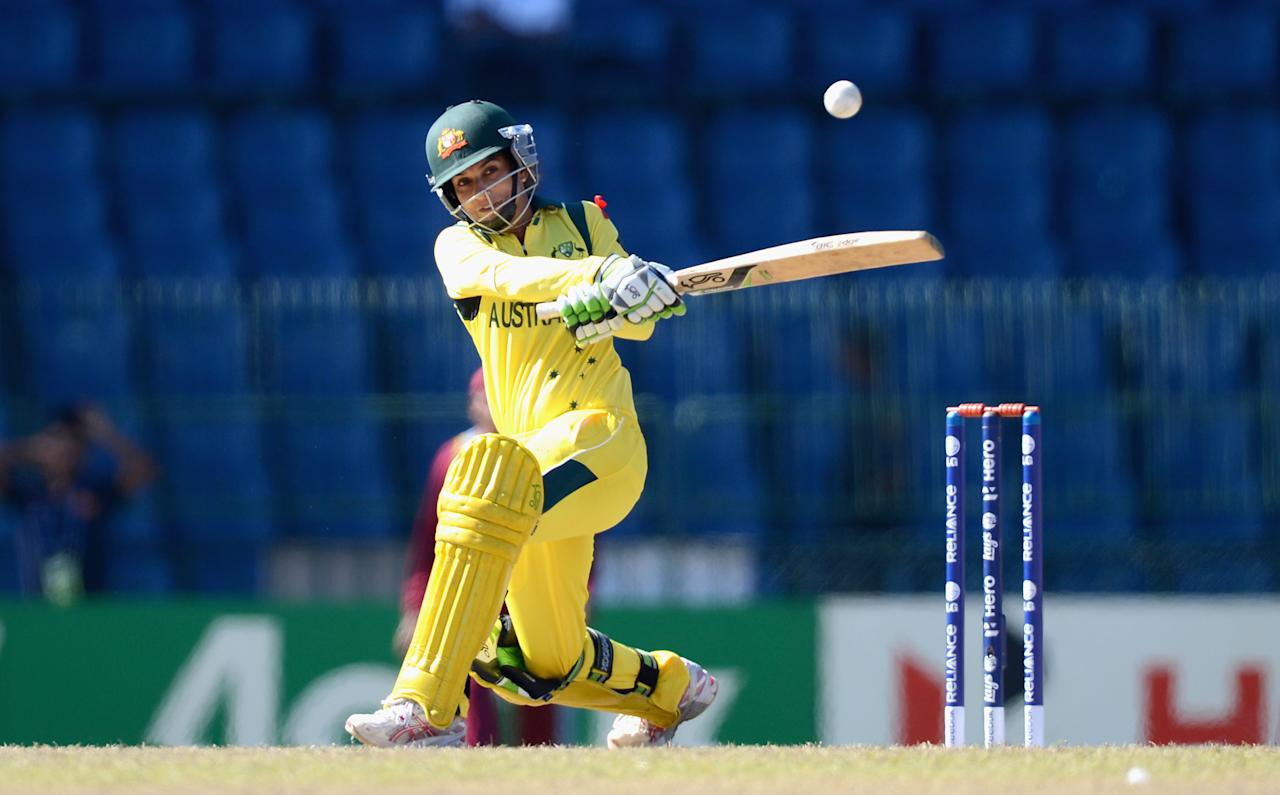 COLOMBO, SRI LANKA - OCTOBER 05:  Lisa Sthalekar  of Australia bats during the ICC Women's World Twenty20 2012 Semi Final between Australia and the West Indies at R. Premadasa Stadium on October 5, 2012 in Colombo, Sri Lanka.  (Photo by Gareth Copley/Getty Images)