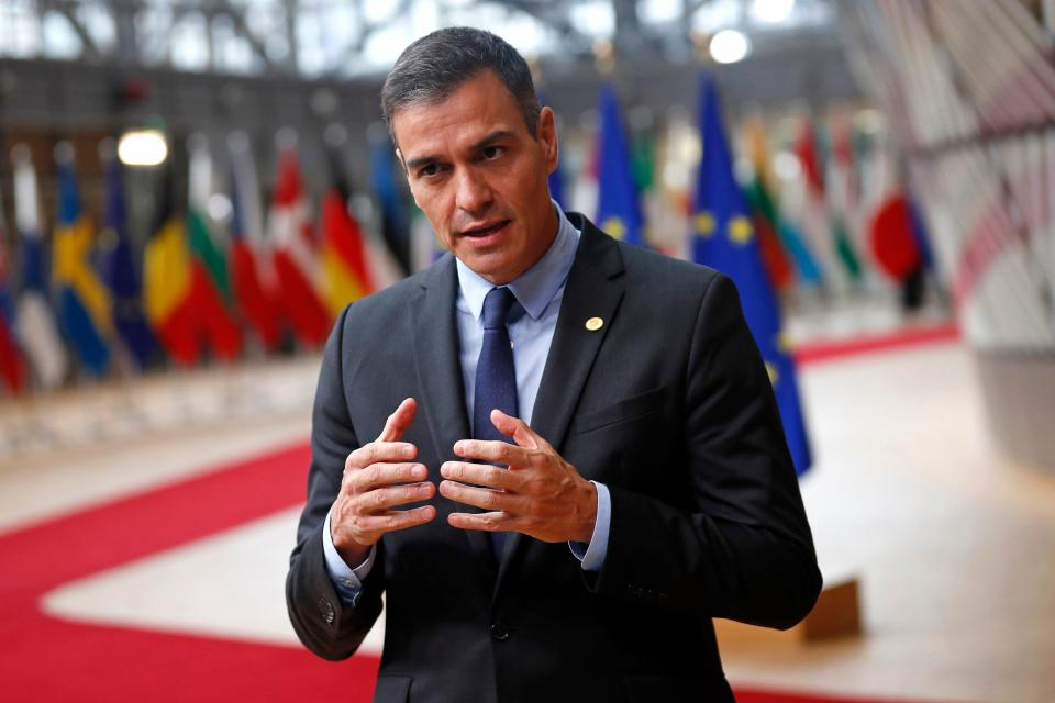 Pedro Sánchez, presidente del Gobierno de España. (Photo by FRANCISCO SECO/POOL/AFP via Getty Images)