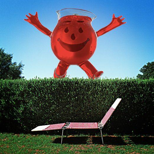 This guy was always so smiley, you almost forgot it's kind of creepy to be a giant living pitcher of Kool-Aid.