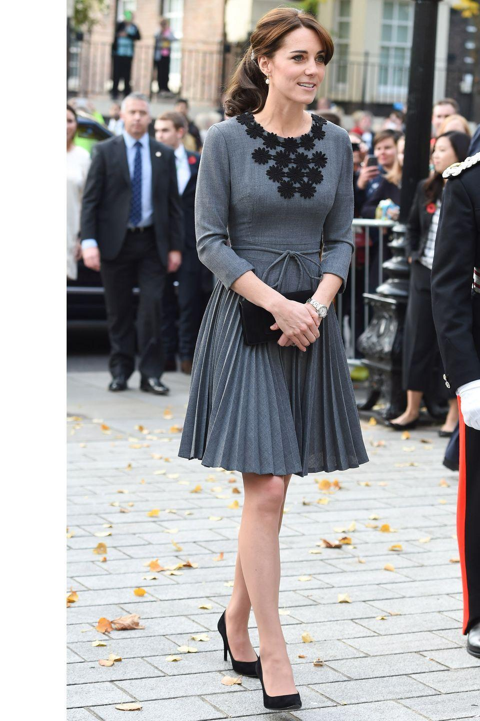 <p>The Duchess of Cambridge visits Chance UK's Early Intervention Program at Islington Town Hall in London.</p>
