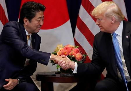 Japan: Abe Silent on Whether He Backed Trump for Nobel Prize
