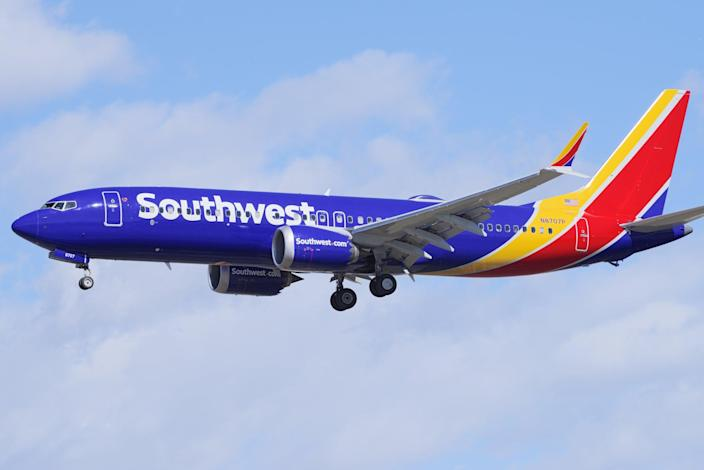 <p>Southwest Airlines was upholding a federal mask mandate</p> (Getty Images)
