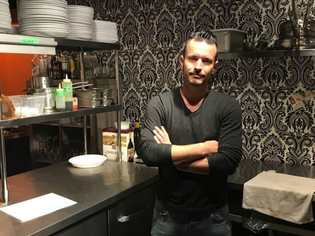 Luc Doucet, the owner of Black Rabbit, says he was presented a violation notice from the Department of Health for serving beef tartare.  (Maeve McFadden/CBC - image credit)