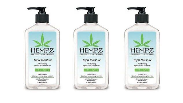Save on Hempz and more hand sanitizers at Ulta.