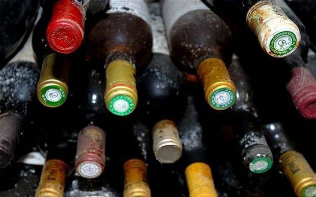 There were complaints the wine violated EU sanctions against Moscow