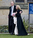 EASEBOURNE, UNITED KINGDOM - DECEMBER 31: Laurence Fox and Billie Piper leave the Parish Church of St. Mary after their wedding on December 31, 2007 in Easebourne, West Sussex, England. (Photo by Dave M. Benett/Getty Images)