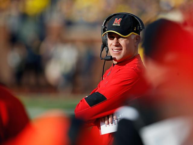 D.J. Durkin will return as Maryland's football coach. (AP)