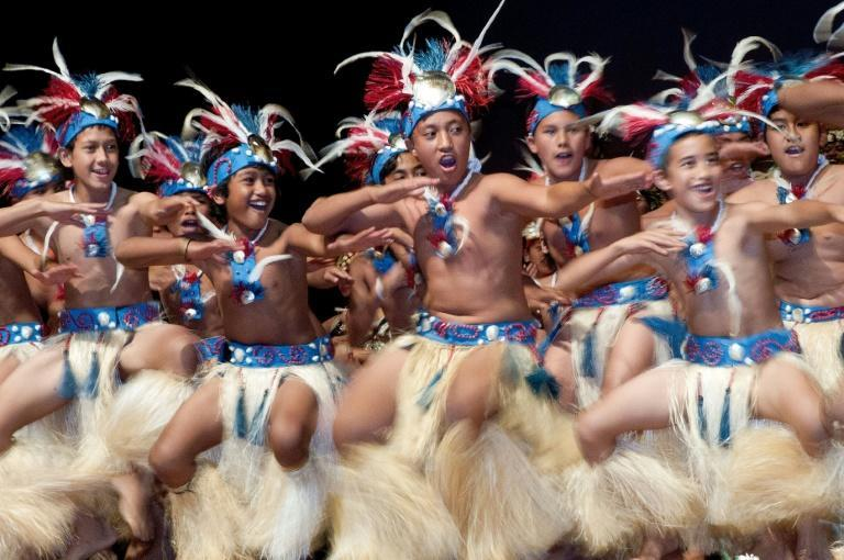 Dancers from the Cook Islands perform during a ceremony in the capital, Avarua. The government is considering changing the name of the tiny nation to something more traditional