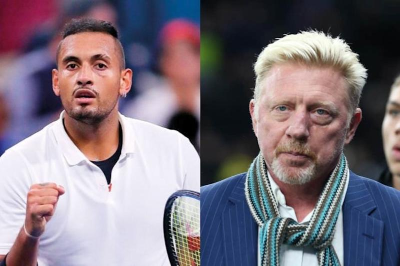 Nick Kyrgios, Boris Becker in Ugly Feud as German Calls Him 'Rat' for Zverev, Djokovic Comments