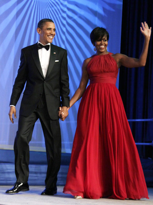 Former President Barack Obama and former first lady Michelle Obama will be developing content for Netflix, the company announced Monday. (AP Photo/Carolyn Kaster, File)
