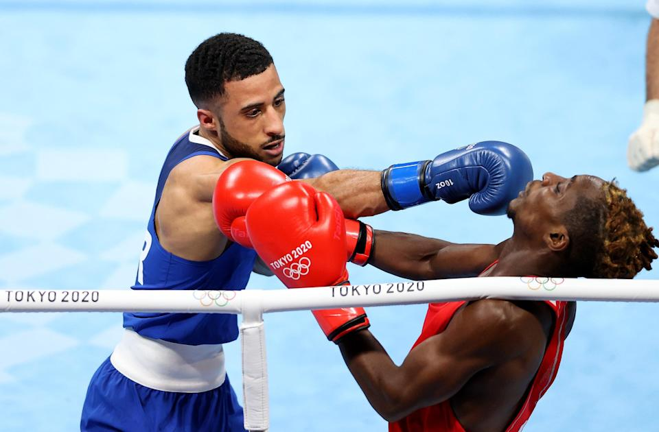 Galal Yafai (left) is one fight away from a medal (Getty Images)