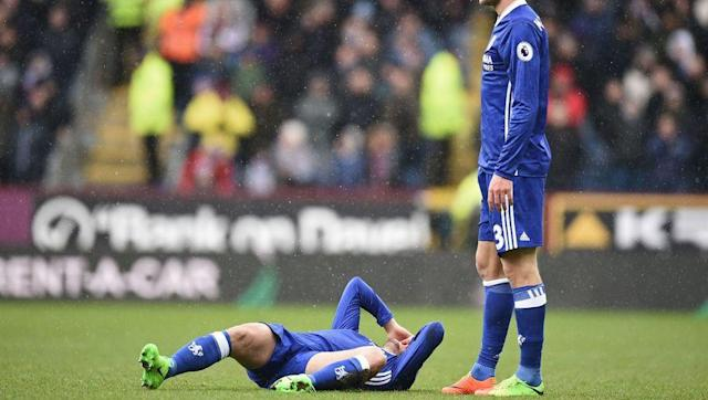 <p>In all seriousness, the main reason why any title bid is derailed is injuries. If Chelsea suffered injuries to Eden Hazard, N'Golo Kante, Diego Costa, Thibaut Courtois or Cesar Azpilicueta, their attempts to win the Premier League could come to a heartbreaking end.</p> <br><p>There is one last round of irritating and meaningless international fixtures coming up in the next week-or-so and the Blues' coaching staff will have everything crossed that their players come home unscathed. </p> <br><p>It's much safer to lock them inside Cobham for that two week period.</p>