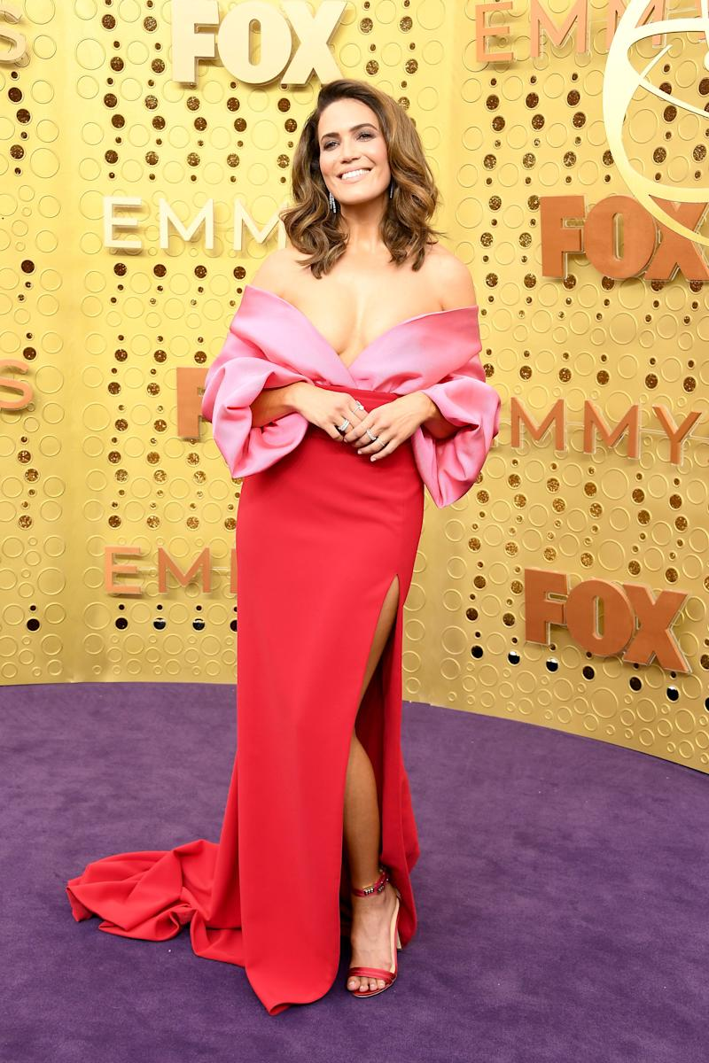 Mandy Moore attends the 71st Emmy Awards at Microsoft Theater on September 22, 2019 in Los Angeles, California. (Photo: Steve Granitz via Getty Images)