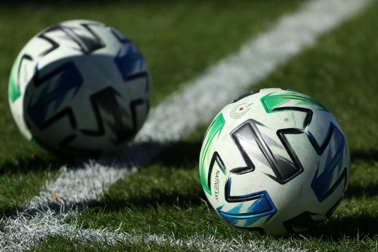 Major League Soccer balls such as these could be rolling across fields in Orlando as part of a 26-team event if the league and players can agree on a planned tournament, according to reports