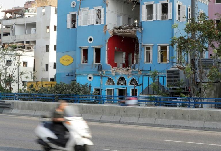 Beirut's Madame Om bar was once a popular night spot famed for its weekend parties and drag shows, but it was left in ruins after the August port explosion