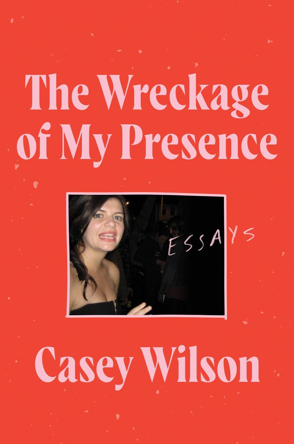 """<p>The comedian, podcast host, and — perhaps most notably — <em>People</em>'s Most Beautiful 40-year-old pens <a href=""""https://ew.com/books/author-interviews/casey-wilson-the-wreckage-of-my-presence-interview/"""" rel=""""nofollow noopener"""" target=""""_blank"""" data-ylk=""""slk:a collection of essays"""" class=""""link rapid-noclick-resp"""">a collection of essays</a> inspired by the grief she felt surrounding her mother's passing, and the people (and costars) who helped her through. She shares rip-roaring stories about her wacky upbringing and her early days on the comedy scene, and reflects on the lessons she's learned so far. (May 4)</p>"""
