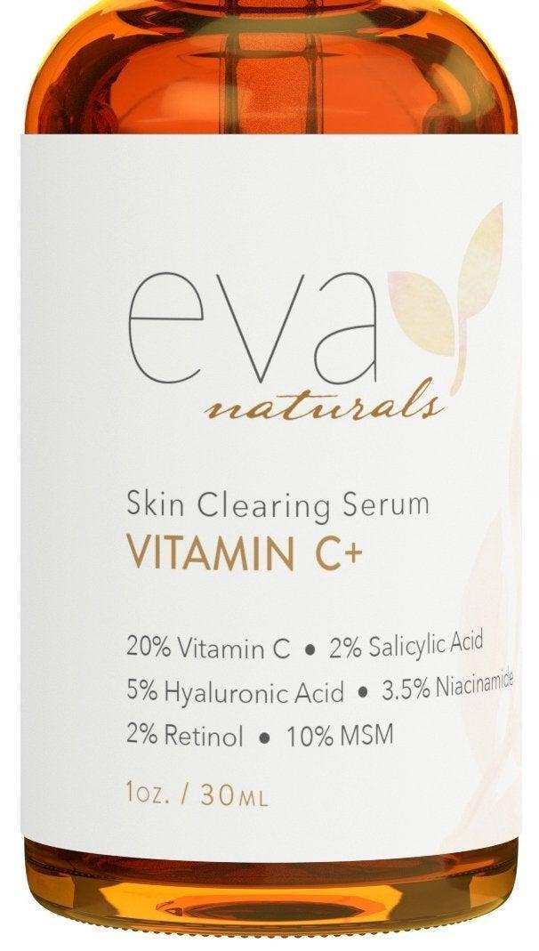 """<h3><a href=""""https://amzn.to/36fYMZw"""" rel=""""nofollow noopener"""" target=""""_blank"""" data-ylk=""""slk:Skin-Clearing Serum"""" class=""""link rapid-noclick-resp"""">Skin-Clearing Serum</a></h3><br><strong>Elizabeth</strong><br><br><strong>How She Discovered It:</strong> """"I'd been hearing a lot of magic skin-clearing serums and was interested in testing out one that wouldn't upset my overly sensitive skin. After some Googling, I found this top-rated option on Amazon for under $20.""""<br><br><strong>Why It's A Hidden Gem:</strong> """"I was nervous about using it for the first few times, but based on the customer images (there are nearly 10,000 reviews) I felt confident that this could work in finally zapping my pesky humidity breakouts. And it did. I've been using it for about a month now (putting it on at night after my cleanser and before my moisturizer) and will be ordering another bottle soon. It took about a week for me to start and notice any real results, but this brand's ratio of vitamin C, salicylic acid, hyaluronic acid, niacinamide, retinol, and MSM is magic. Those red inflamed bumps on my cheeks and forehead are kaput.""""<br><br><br><strong>Eva Naturals</strong> Skin-Clearing Serum, $, available at <a href=""""https://amzn.to/36fYMZw"""" rel=""""nofollow noopener"""" target=""""_blank"""" data-ylk=""""slk:Amazon"""" class=""""link rapid-noclick-resp"""">Amazon</a>"""