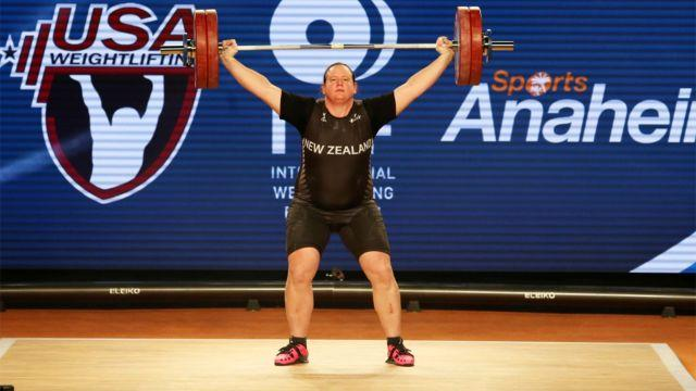 Hubbard competes in Anaheim. Image: Twitter