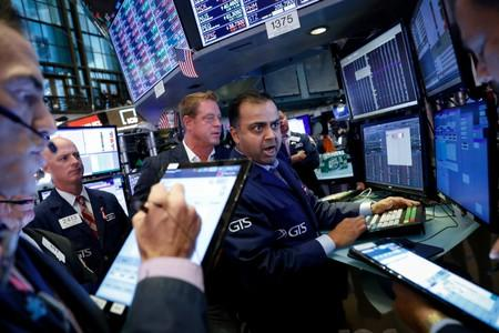Stocks fall as trade tensions rise further; Brexit battle hurts pound